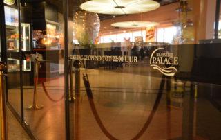 Brasserie Palace Promenade iedere dag geopend van 09.00 tot 22.00 uur